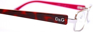 Dolce and Gabbana designer frames at Designer Eyes Opticians in Hertford.